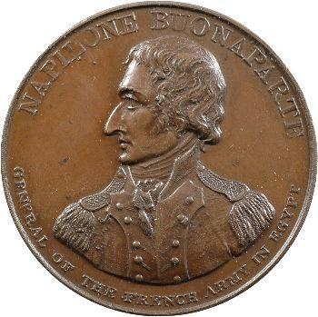 Directoire, débarquement de Napoléon à Alexandrie, 1799 Londres
