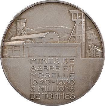 Delannoy (M.) : les mines de Sarre et Moselle, 1930 Paris