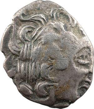 Aulerques Diablintes, statère d'argent allié, type de Jublains, c.100 av. J.-C