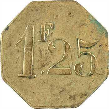 Maroc, Marrakech, cercle des sous-officiers, 1,25 francs, s.d