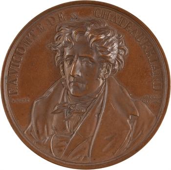 Louis-Philippe Ier, Chateaubriand (F.-R., vicomte de), par Bovy, 1844 Paris
