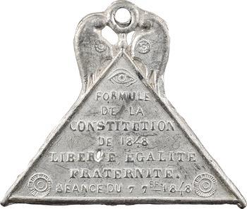 IIe République, adoption de la formule de la Constitution, 1848 Paris