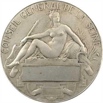 IIIe République, le Conseil Général de la Seine, par Daniel-Dupuis, 1880 Paris