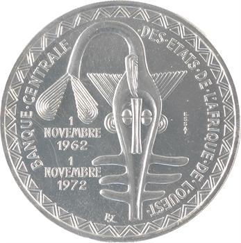 Afrique de l'ouest (États de l'), essai de 500 francs, 1972 Paris