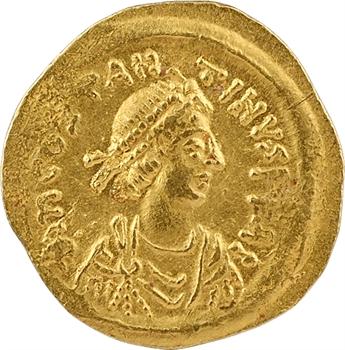 Tibère II Constantin, semissis, Constantinople, 578-582