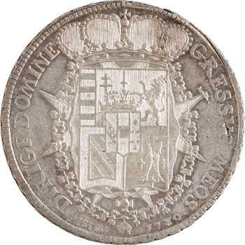 Italie, Toscane (Grand-Duché de), Pierre Léopold, Francescone, 1780 Florence